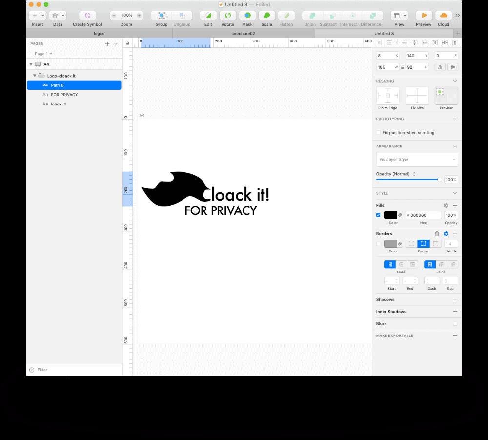 Create company ID - design company logo